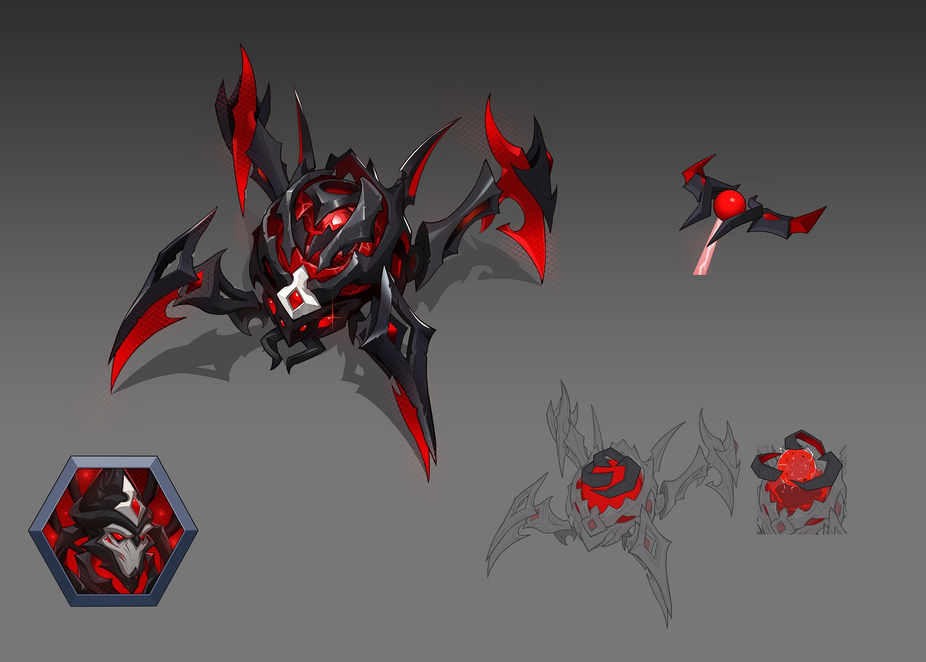 Dark Nexus Fenix Concept Art