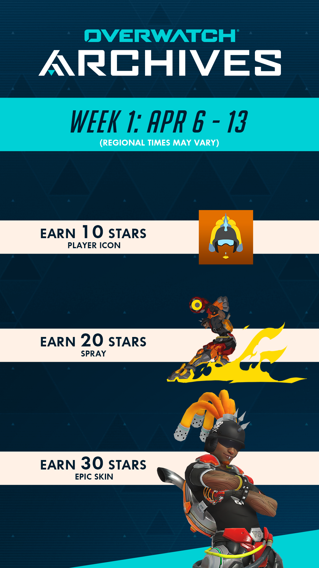 Week 1 Rewards