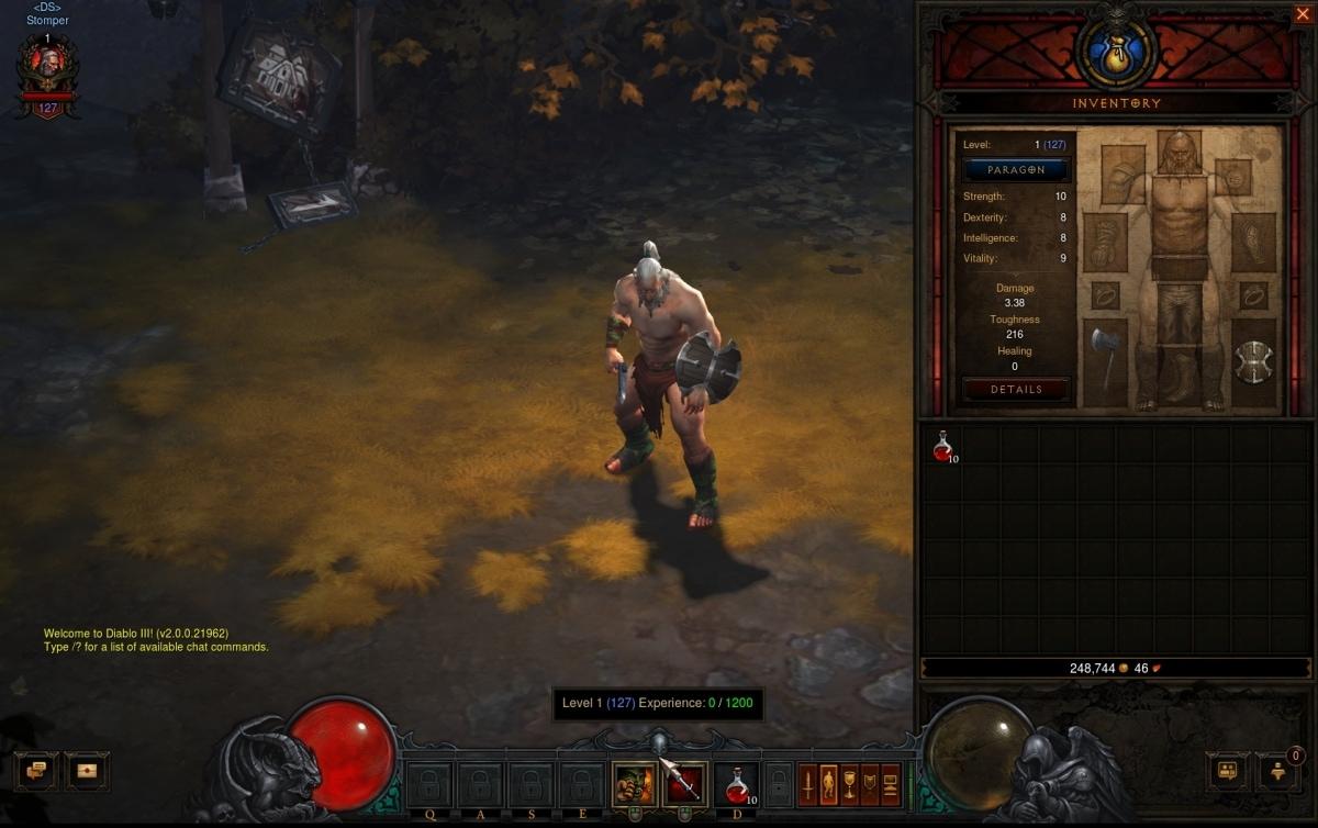 Paragon System - Diablo III - diablo somepage com