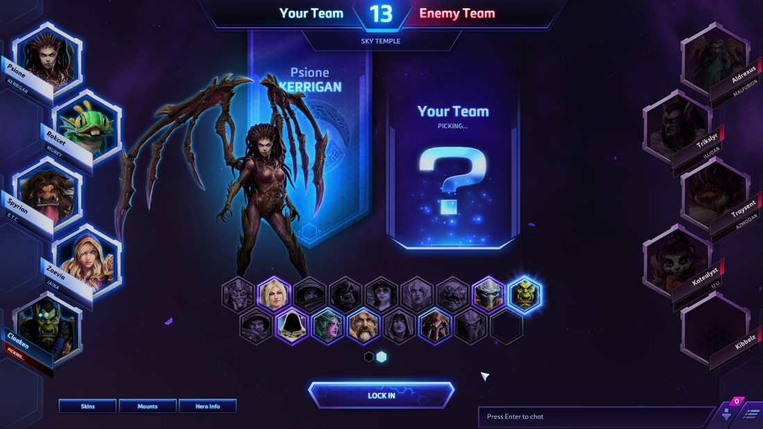 hots matchmaking changes