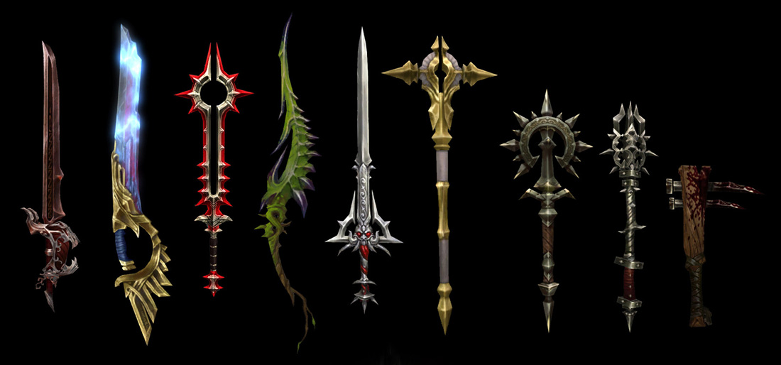 Visually, What is Your Favorite Weapon in Diablo III