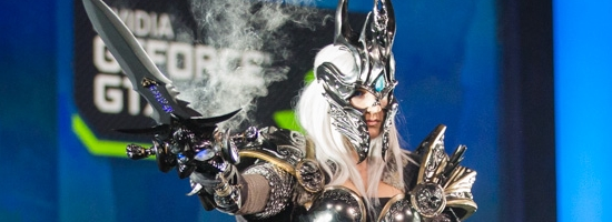 Fourth Place - Alicia Bellemy as 'Arthas'