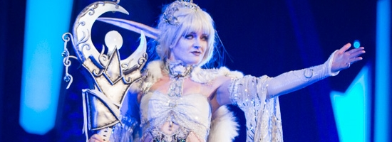 Third Place - Cynthia Hall as 'Elune'