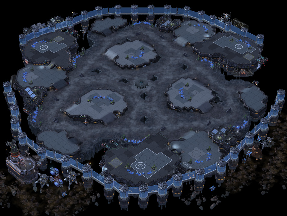 how to create a starcraft 2 map