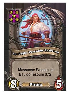 card Nat Pagle, Pescador Extremo