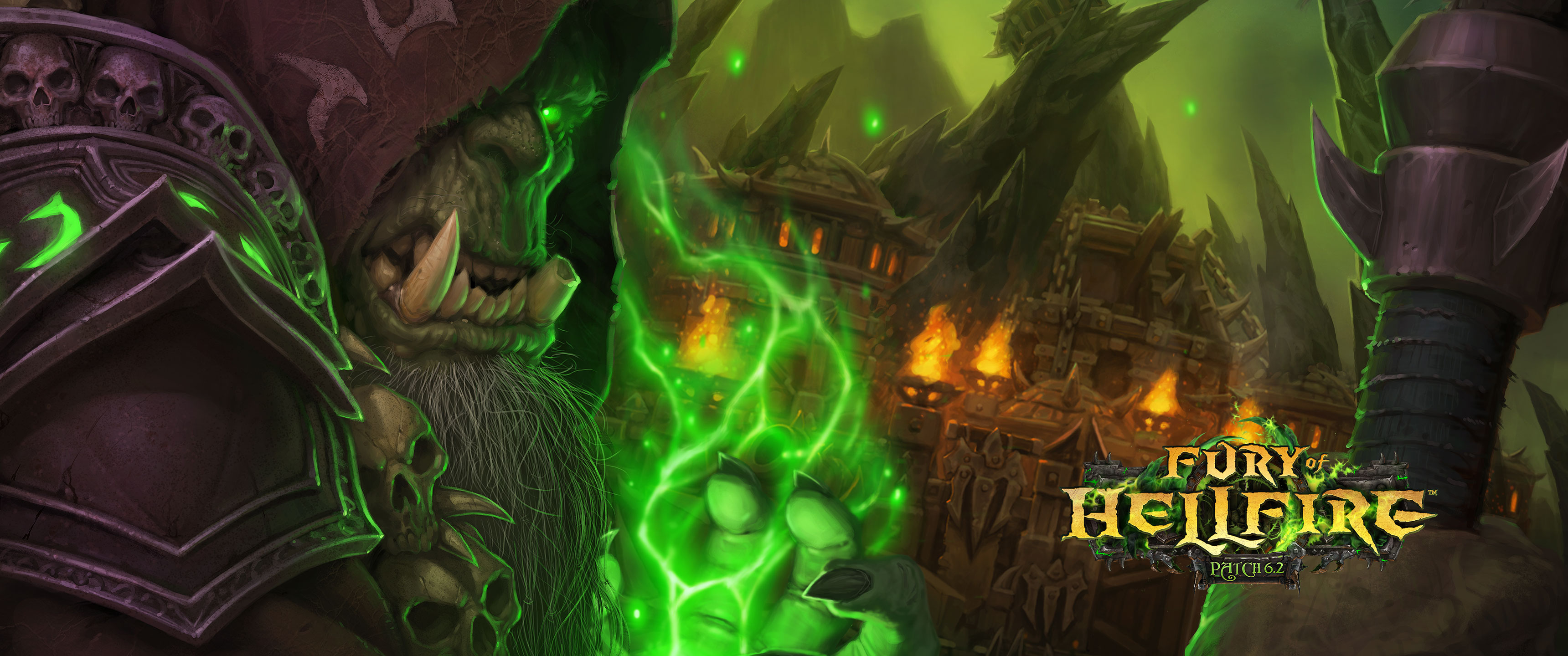 Jungle Wallpaper World Of Warcraft: Patch 6.2: Fury Of Hellfire Wallpapers Available