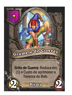 card Grumete do Convés