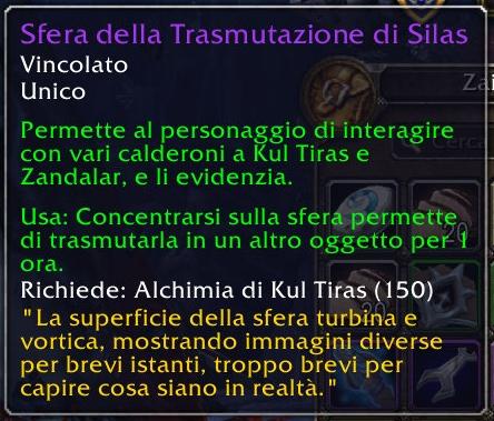 Silas' Sphere of Transmutation