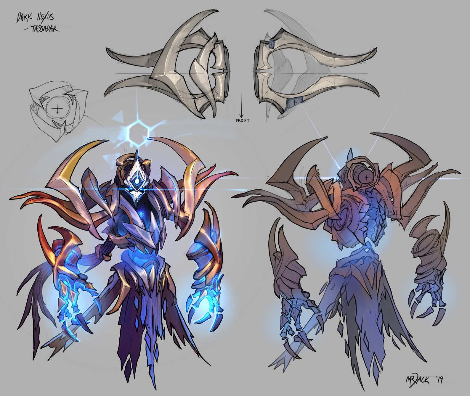 Dark Nexus Tassadar Concept Art