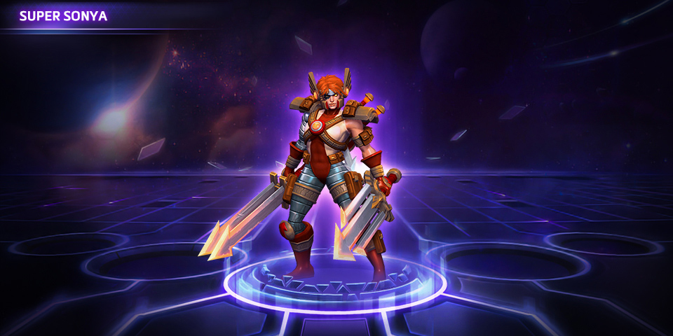 Super Sonya And Mad Martian Gazlowe Skins Now Available Heroes Of The Storm Blizzard News Trait fury instead of mana, sonya uses fury.you get fury how. super sonya and mad martian gazlowe