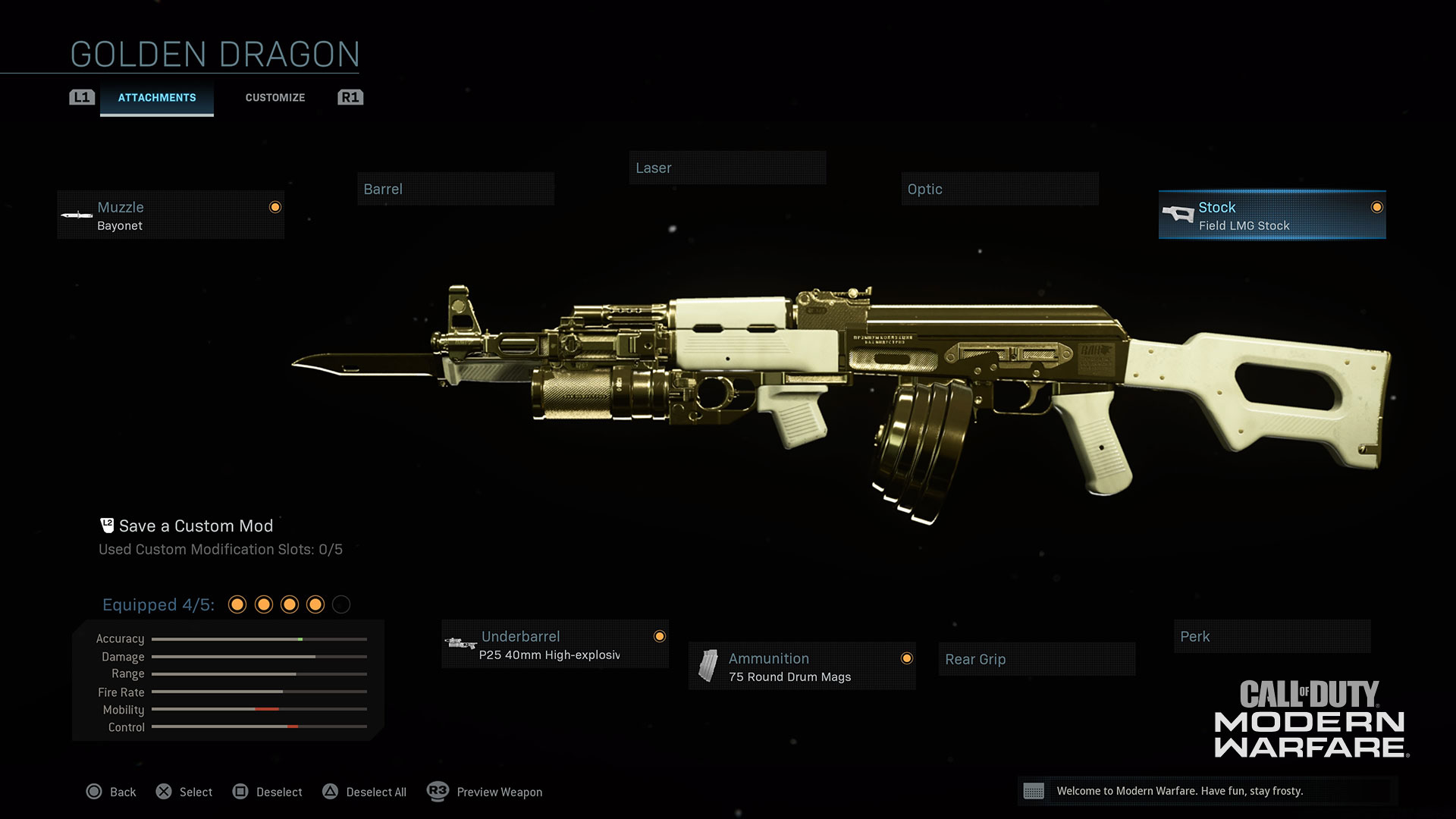 Example of Weapon Attachments