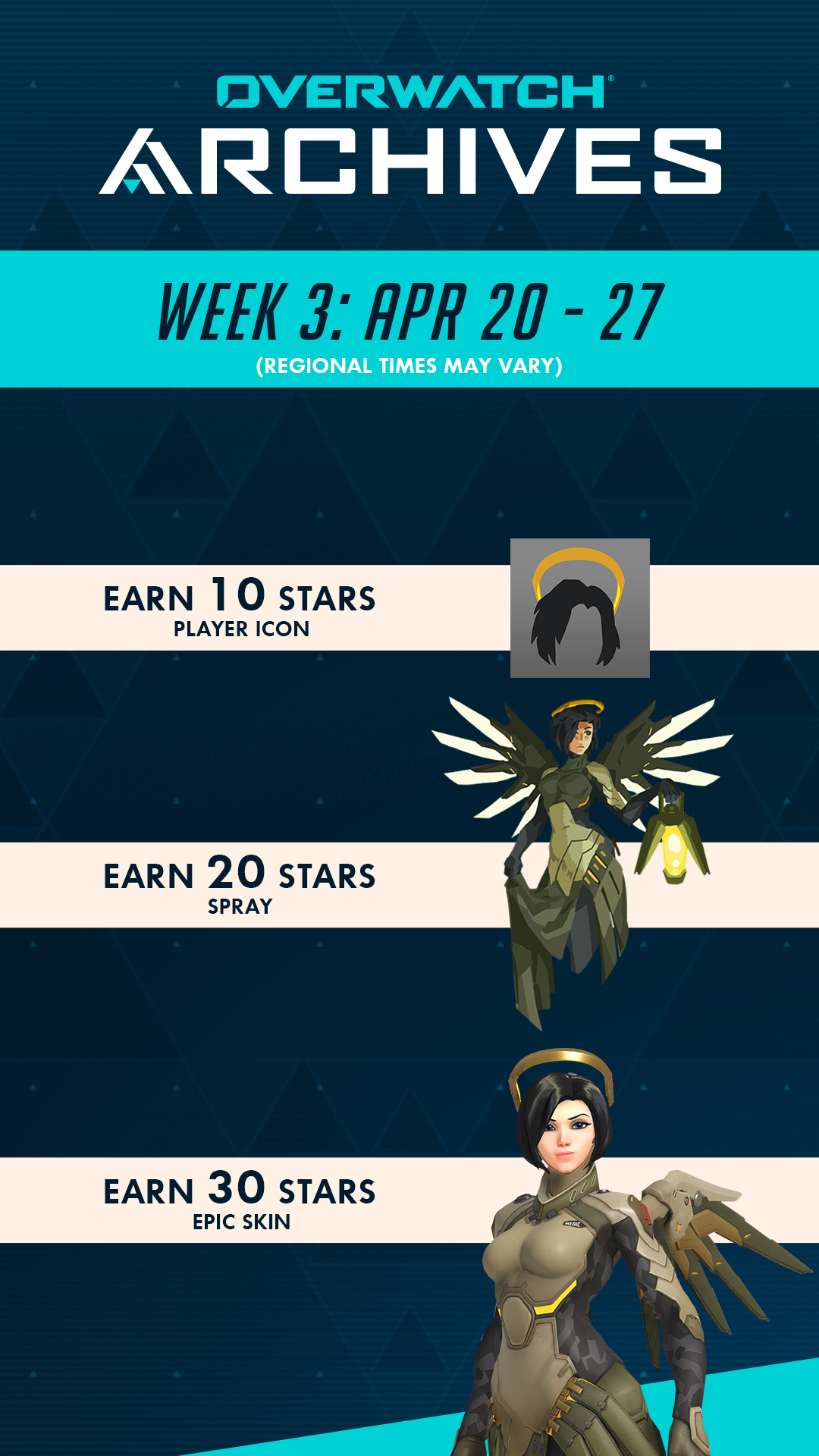 Week 3 Rewards