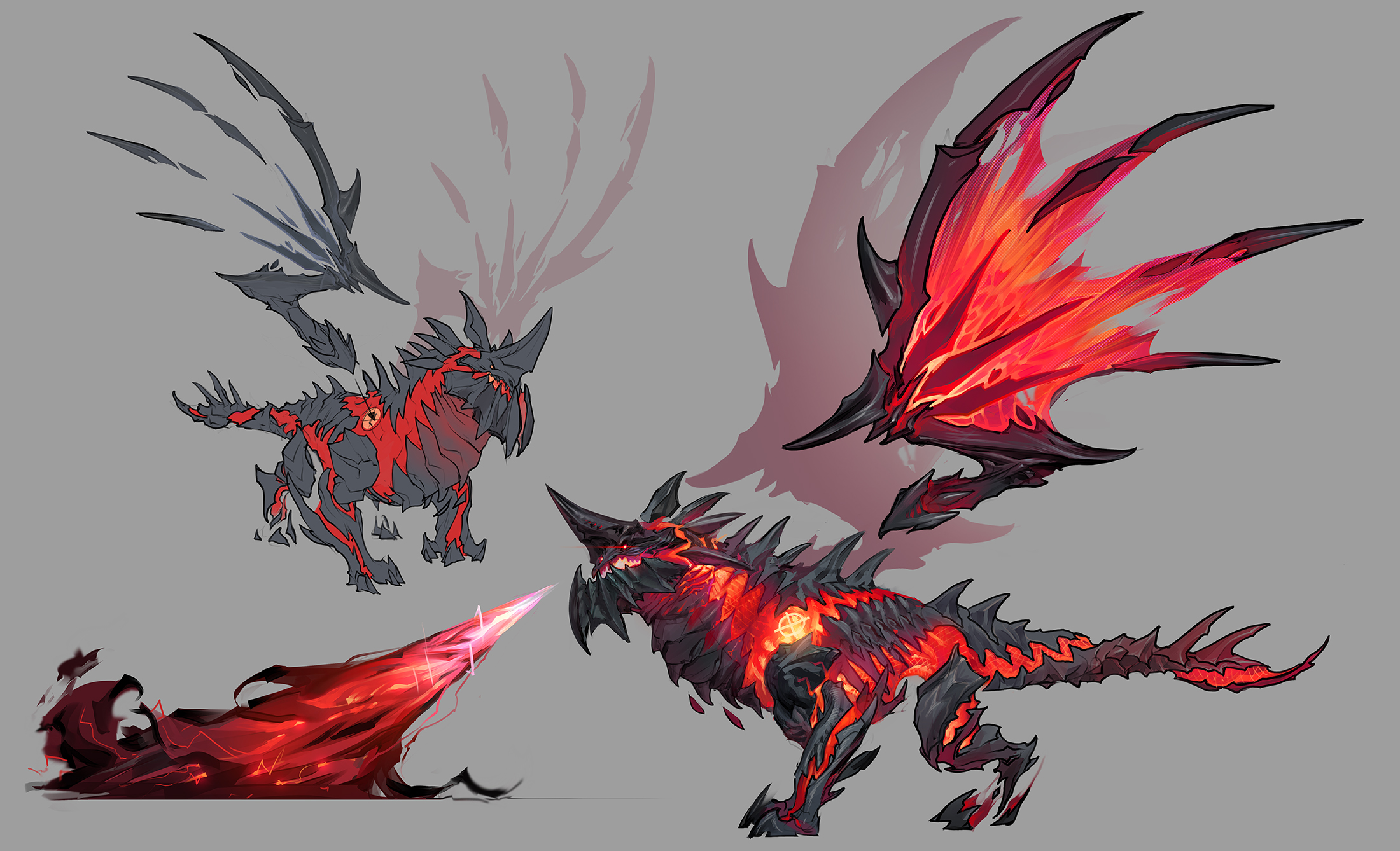 Dark Nexus Deathwing Concept Art