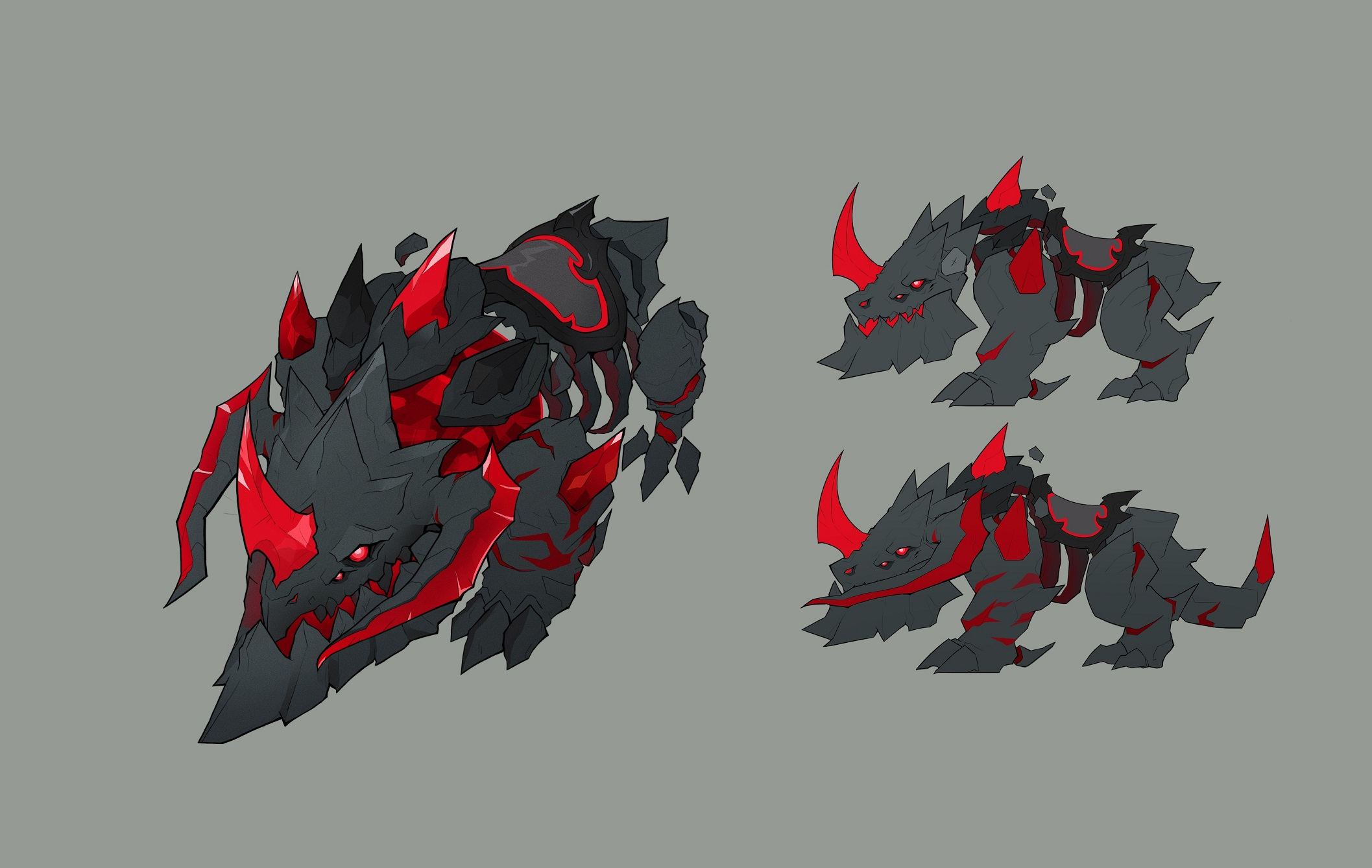 Dark Nexus Hound Concept Art