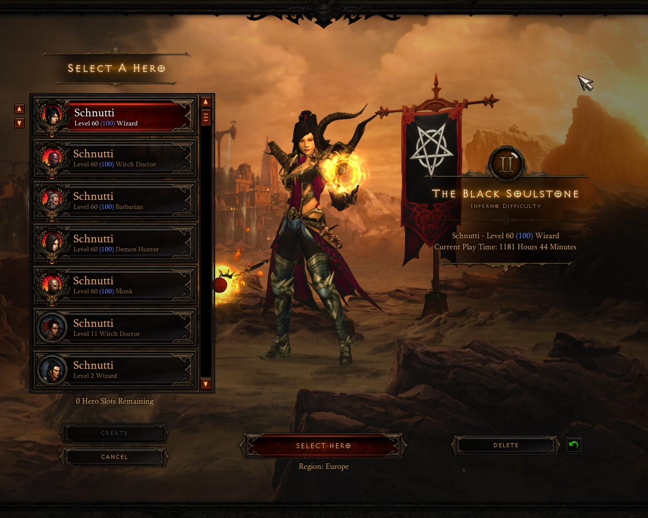 "Player Spotlight: Schnutti's Quest for ""Paragon 500"" - Diablo III"