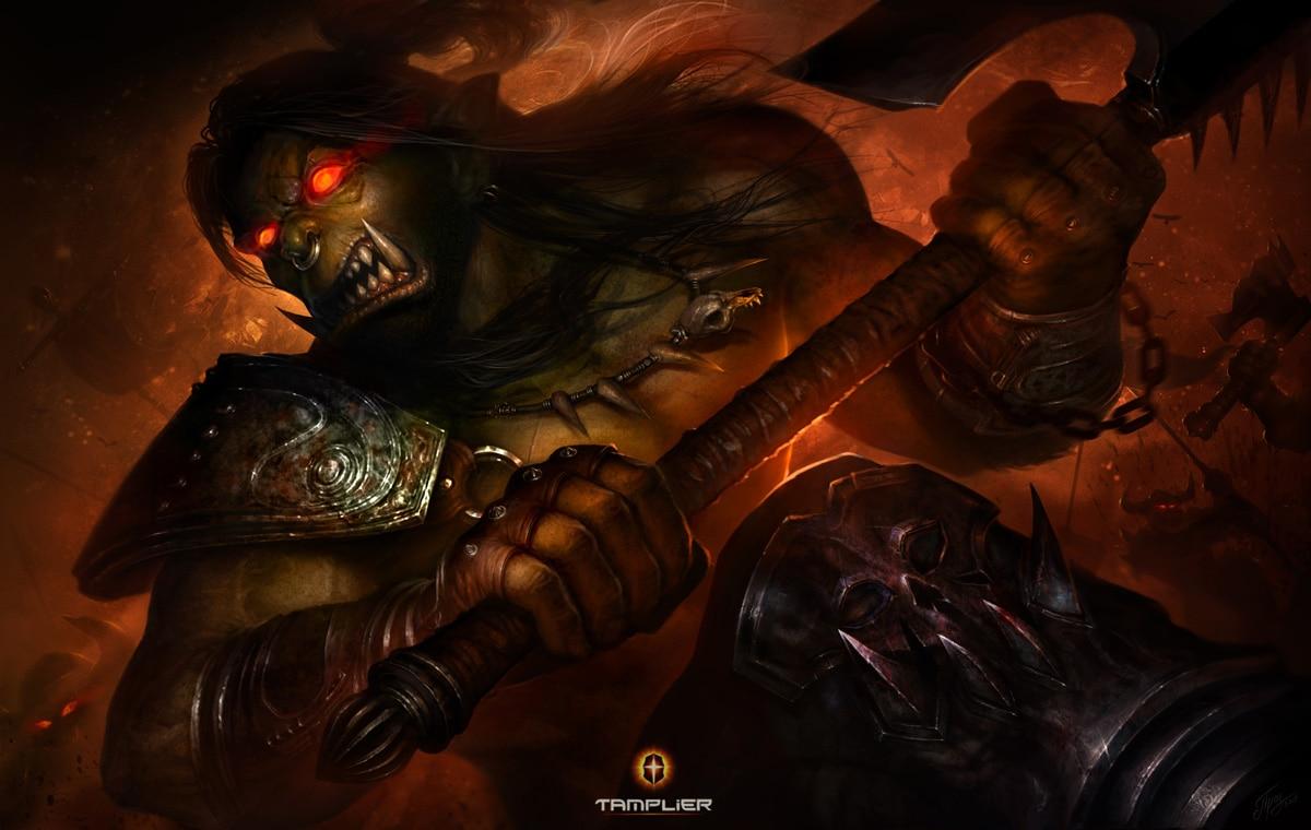 "Dmitriy ""Tamplier"" Prozorov's Epic Blizzard Fan Art ..."