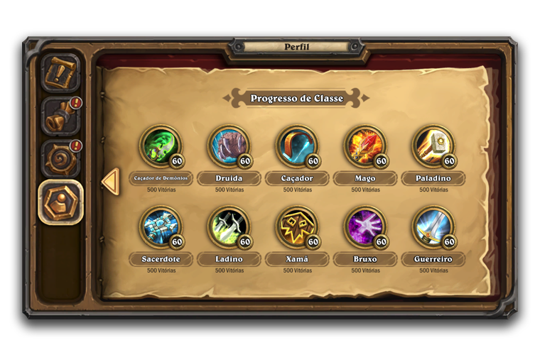 Profile Pane #2 is a drilldown of your class levels