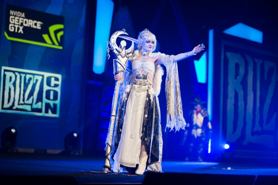 "Cynthia Hall as ""Elune"""