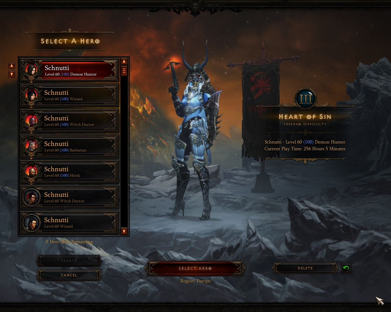 how to delete diablo 3 account