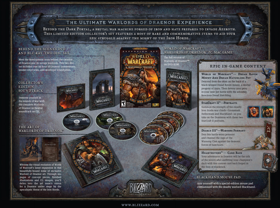 Explore the Warlords of Draenor™ Collector's Edition