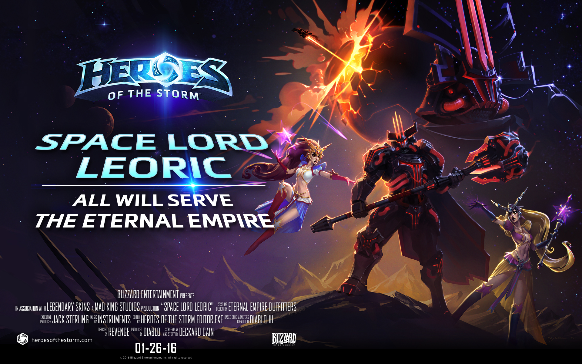 Space lord leoric heroes of the storm - Heroes of the storm space lord leoric ...