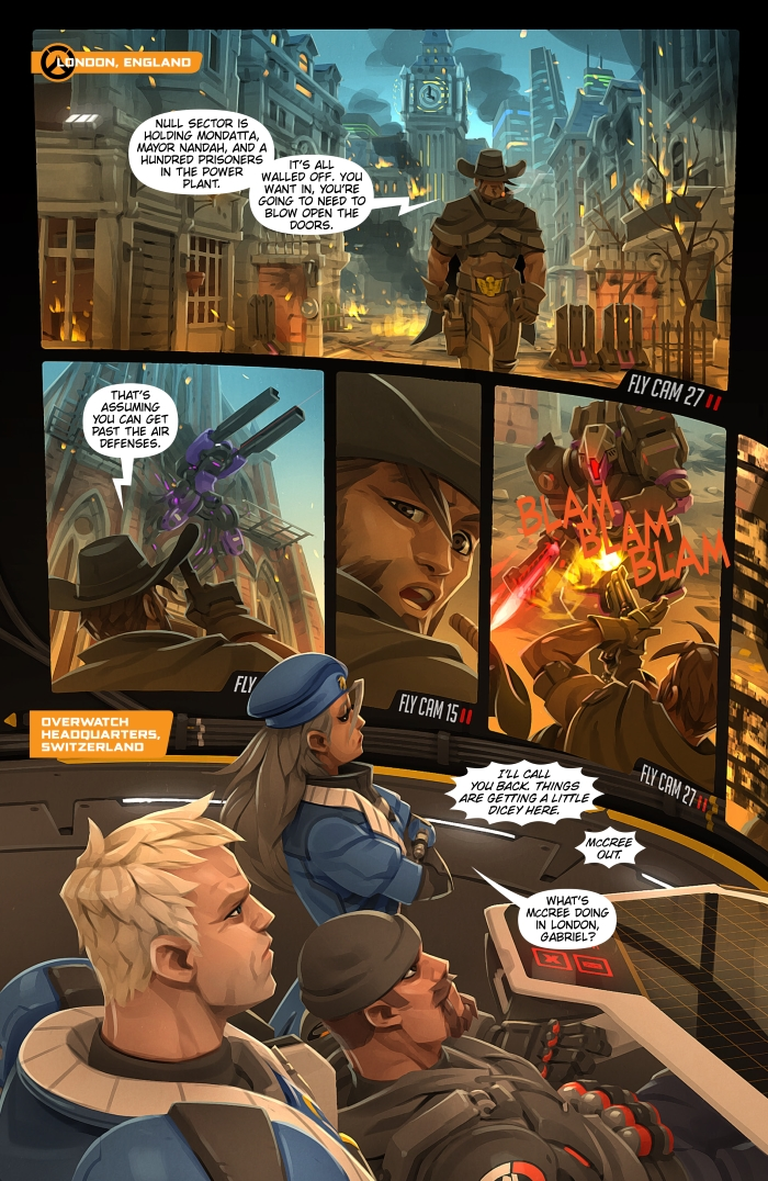 Overwatch Digital Comic: