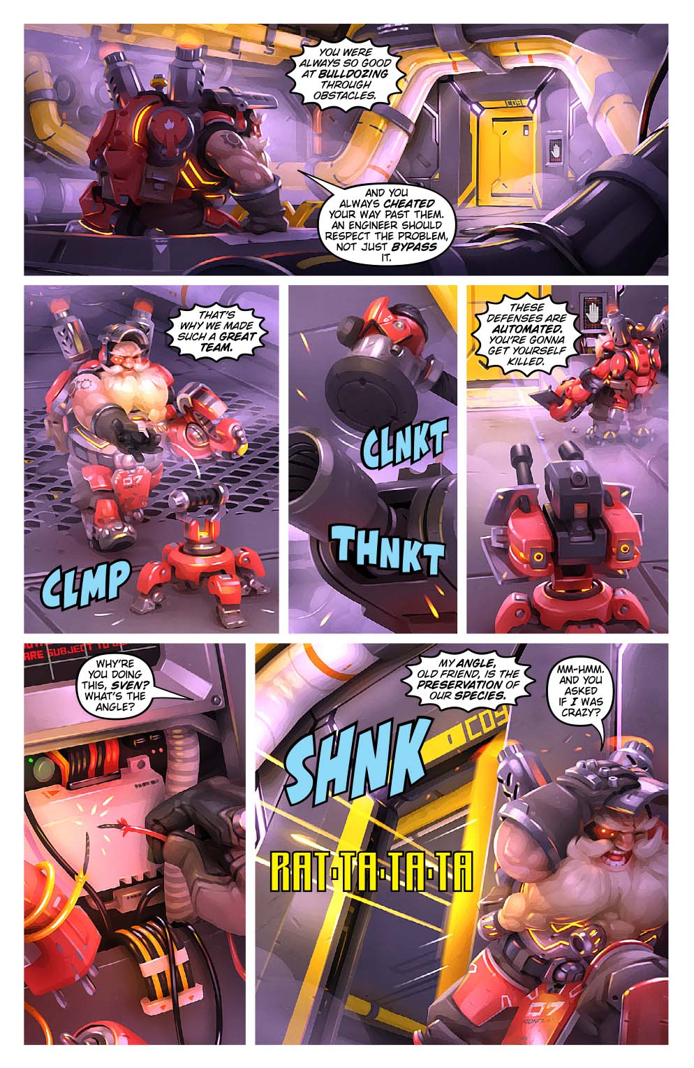 overwatch digital comic destroyer news overwatch