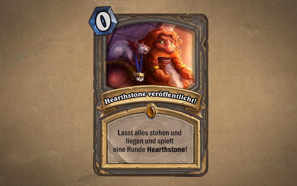Hearthstone Heroes Of Warcraft Veröffentlicht Hearthstone