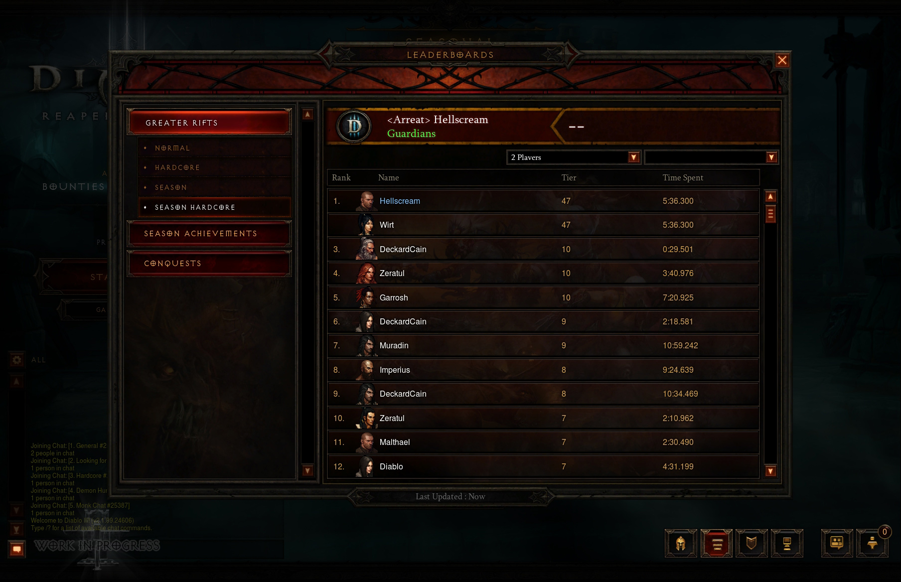 Patch 2 1 0 PTR Preview - Diablo III