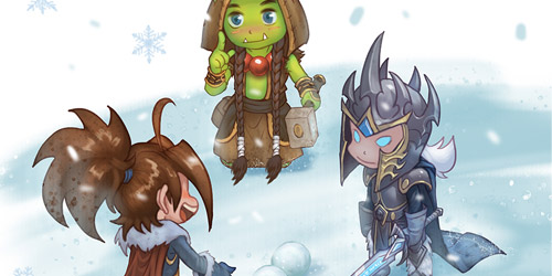World of Warcraft: Snow Fight