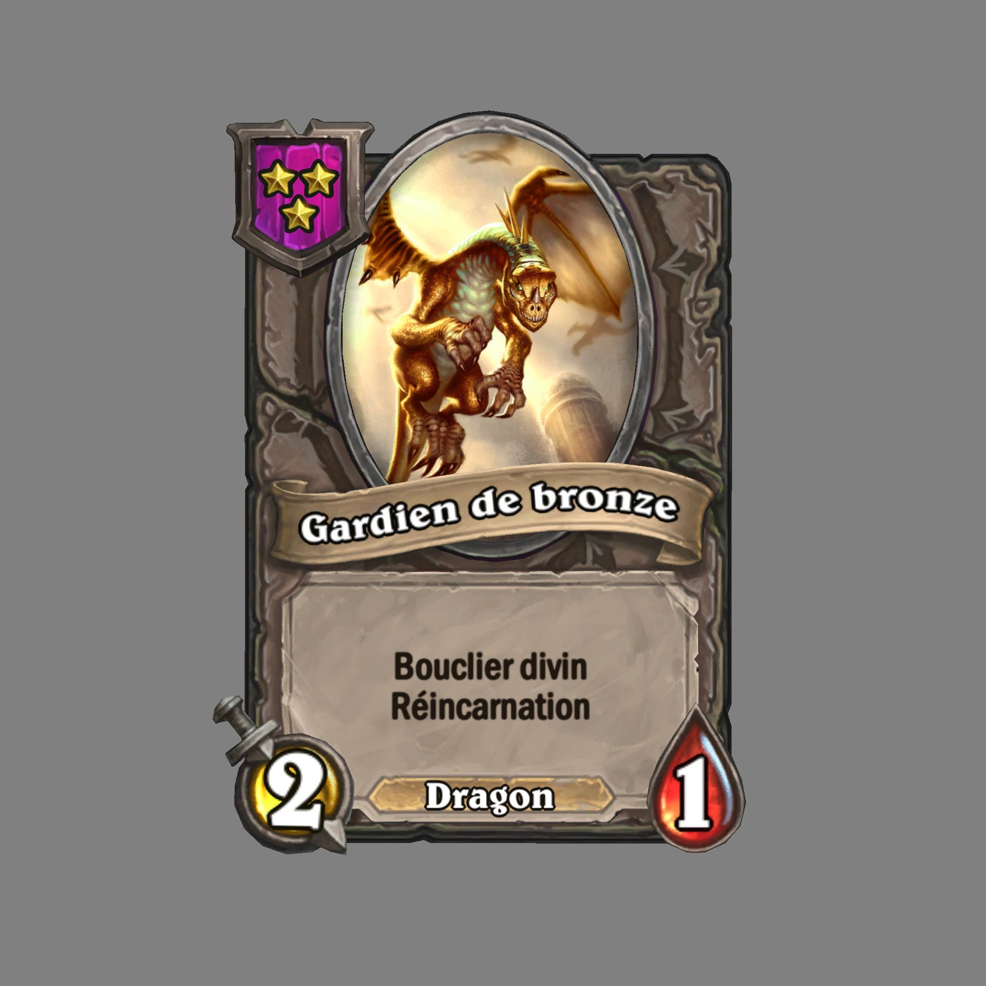 Gardien de bronze