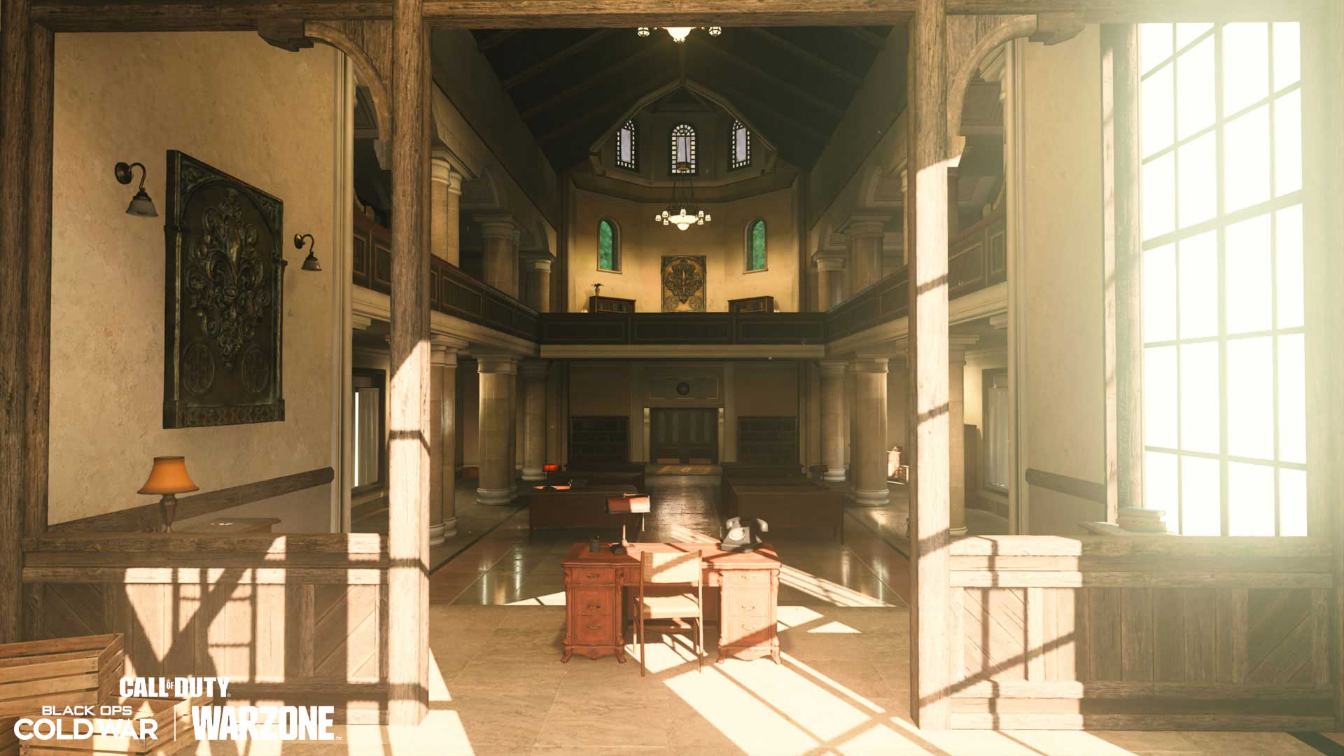 Standoff: Town Hall Interior (1F):