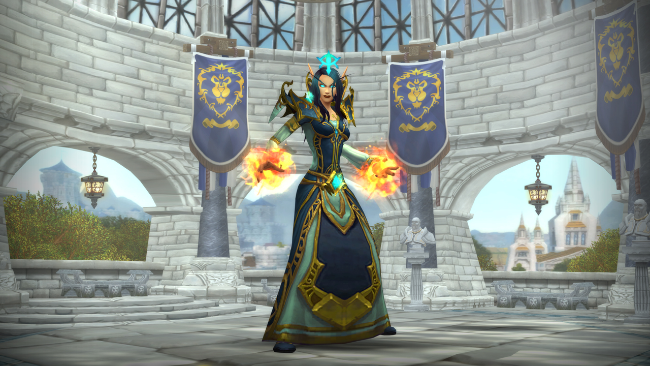 Void Elf Mage