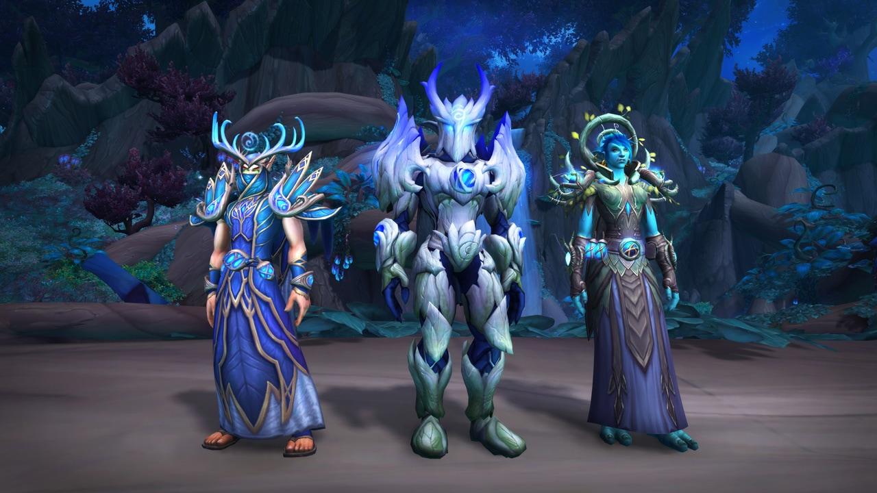 Apariencias de la armadura de la curia de las sílfides nocturnas