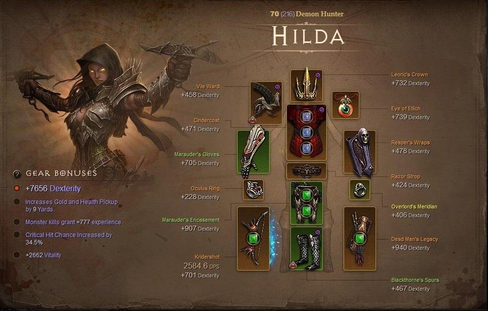 Diablo Demon Hunter Build For Torment  Seasonal