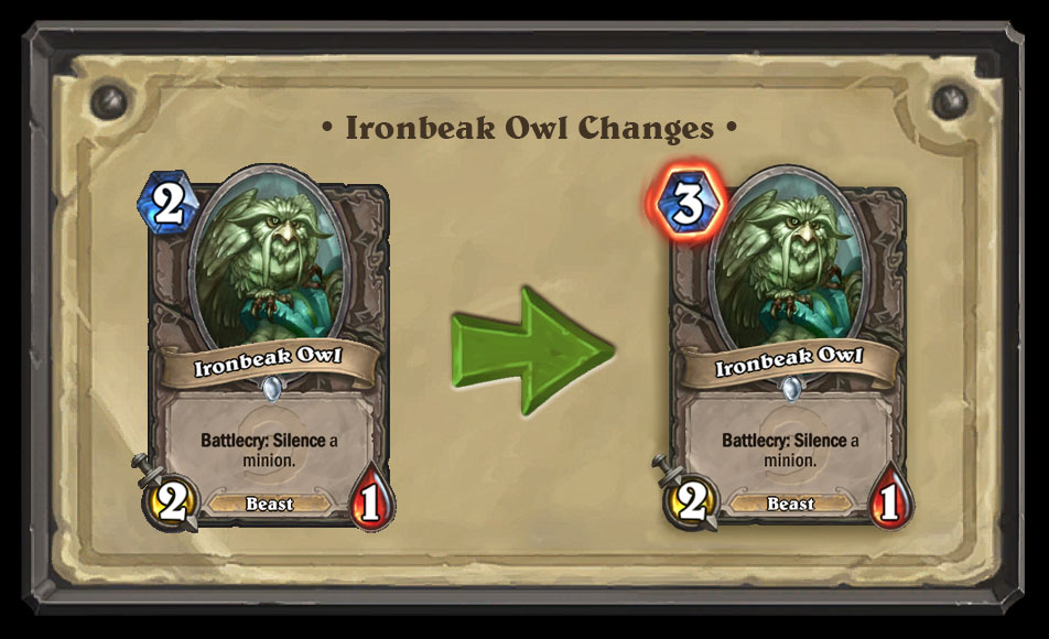 51B63K5NRHFS1461116104302 - On this day in Hearthstone (20 April 2016) - TWELVE Classic/Basic card nerfs announced!