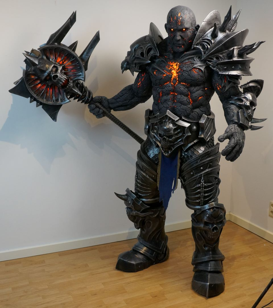 Bolvar Fordragon by Hartigan Cosplay, Best in Show winner of the BlizzConline Cosplay Contest