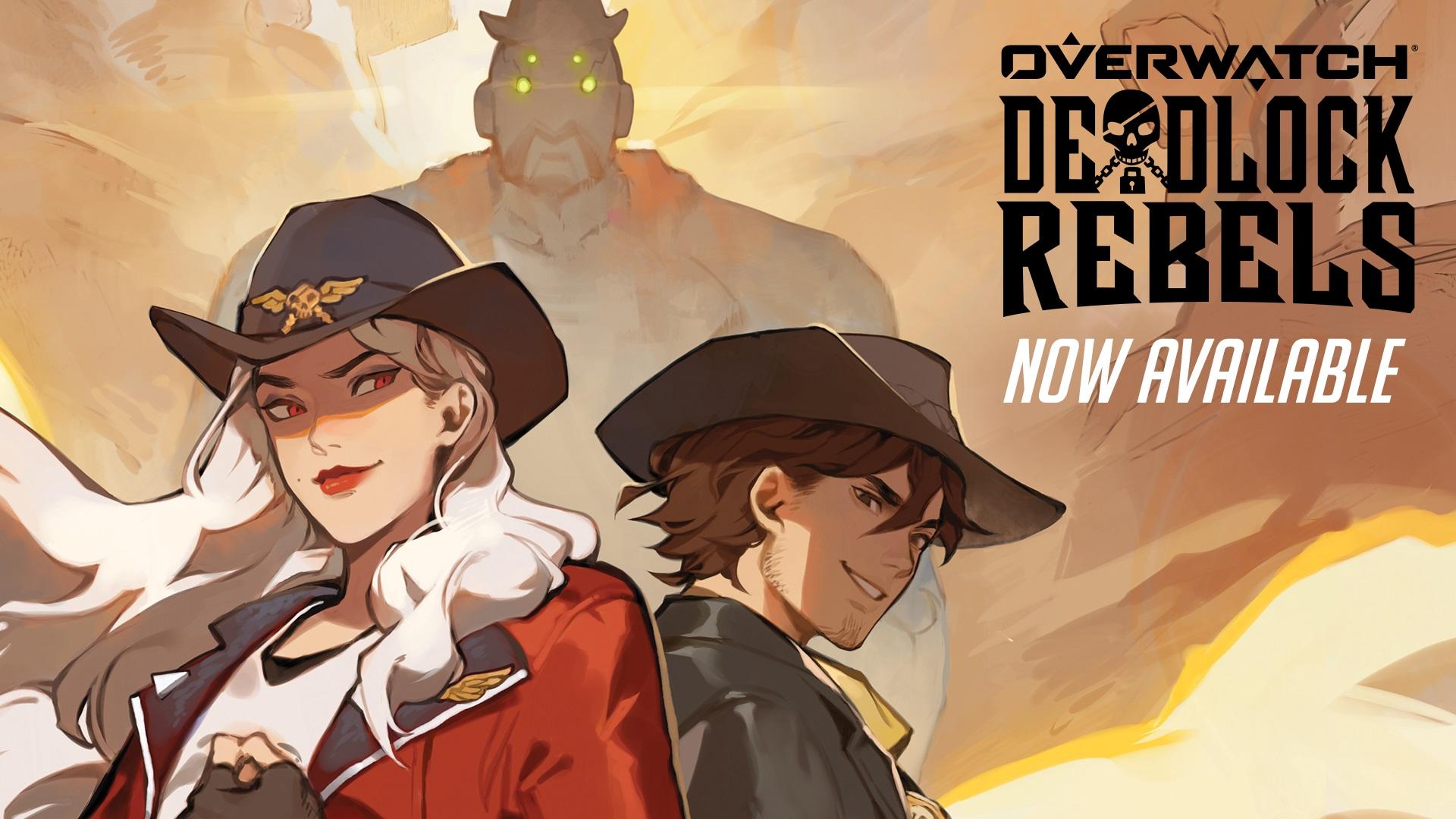 Overwatch Deadlock Rebels. Now Available.