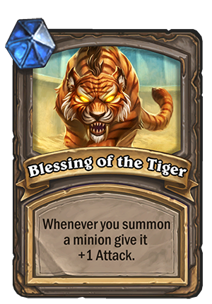 Blessing of the Tiger
