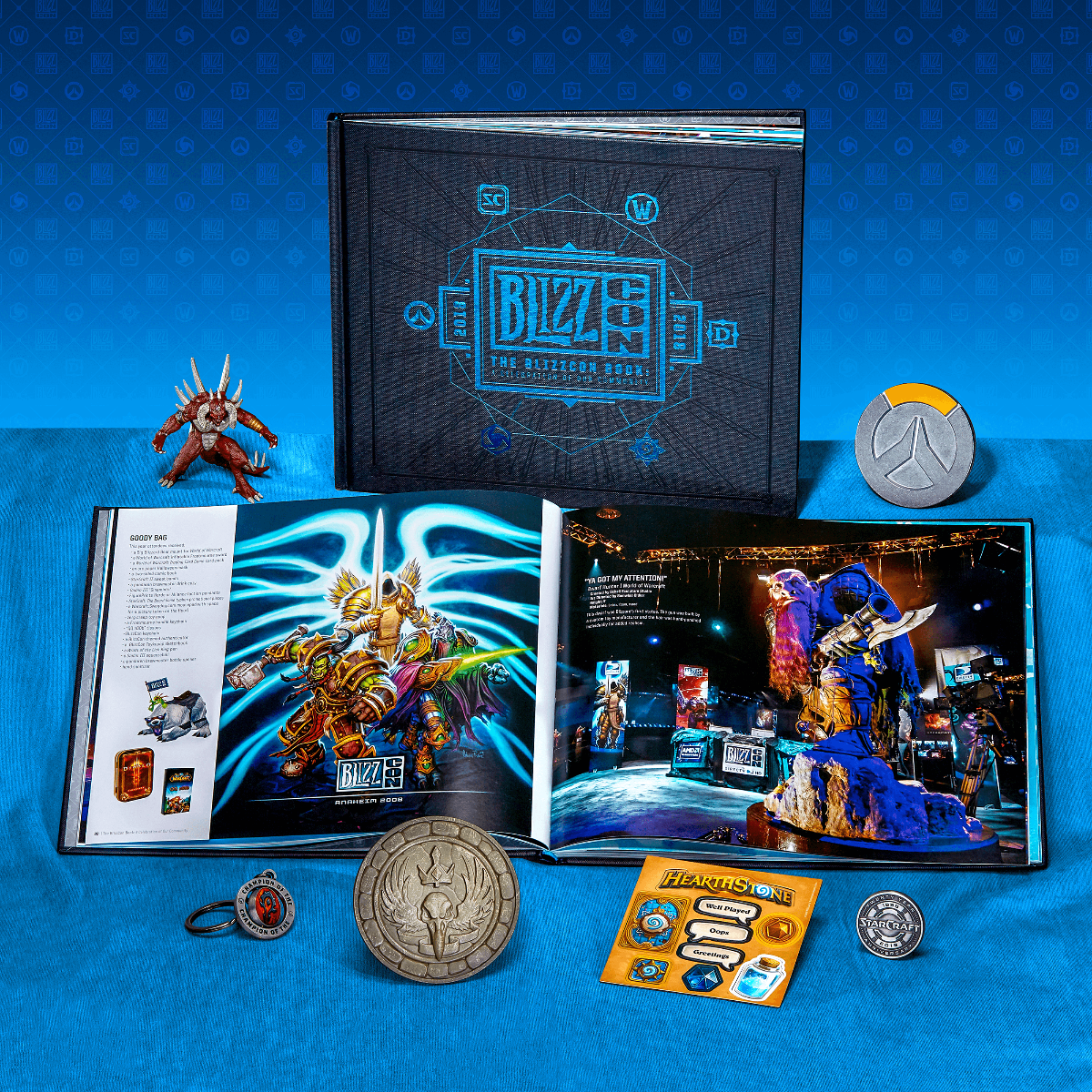 Get the BlizzCon 2018 Goody Bag! - BlizzCon 2019