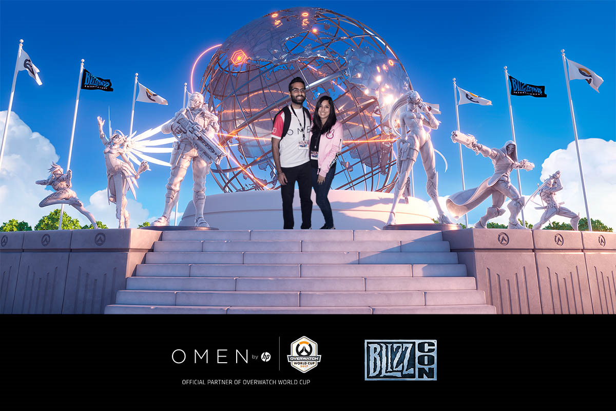 Raisa and Jiv at BlizzCon