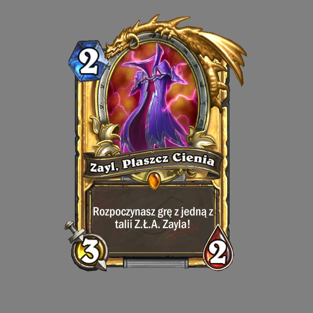 Złota karta Zayl, Płaszcz Cienia