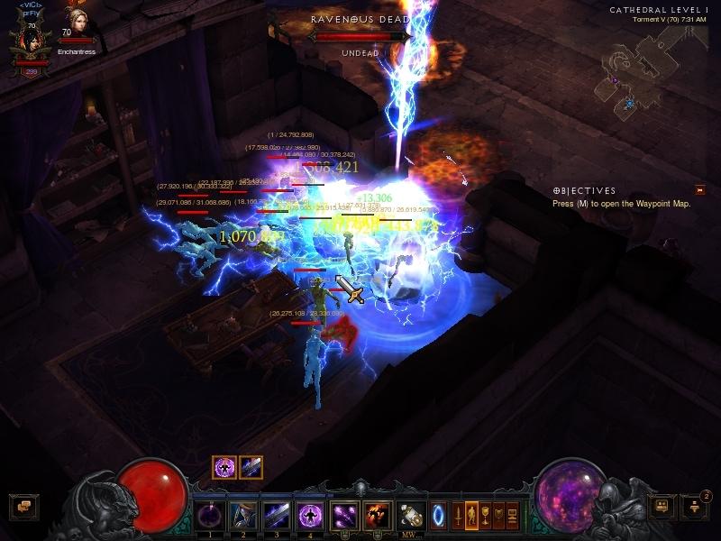 Diabo  Wizard Build Keep Arcane Power