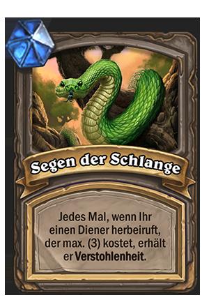 Segen der Schlange
