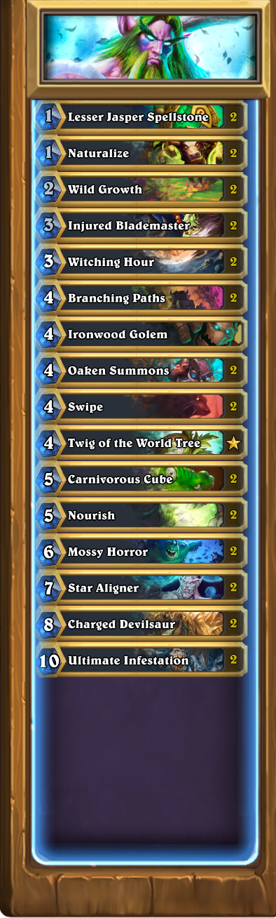 Hearthstone Deck Builds Rogue