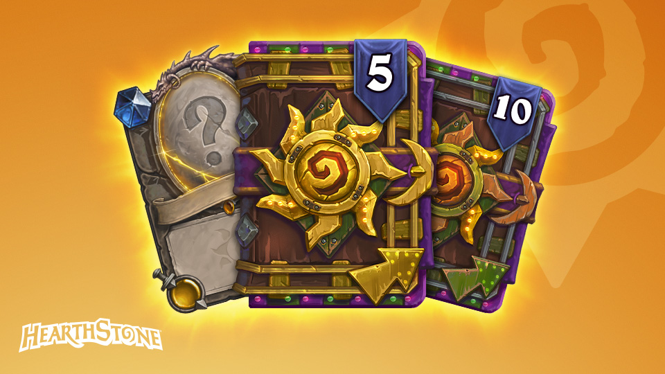 Hearthstone items from the Celebration Collection