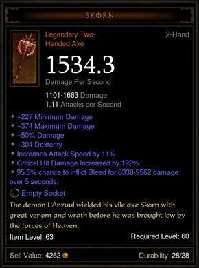 Diablo 3 Patch 1.0.4 Legendary Items Improvement - n3rdabl3