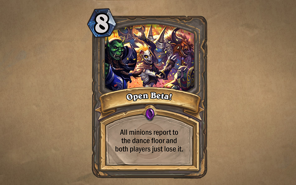 Hearthstone™ Open Beta is Here! - Hearthstone
