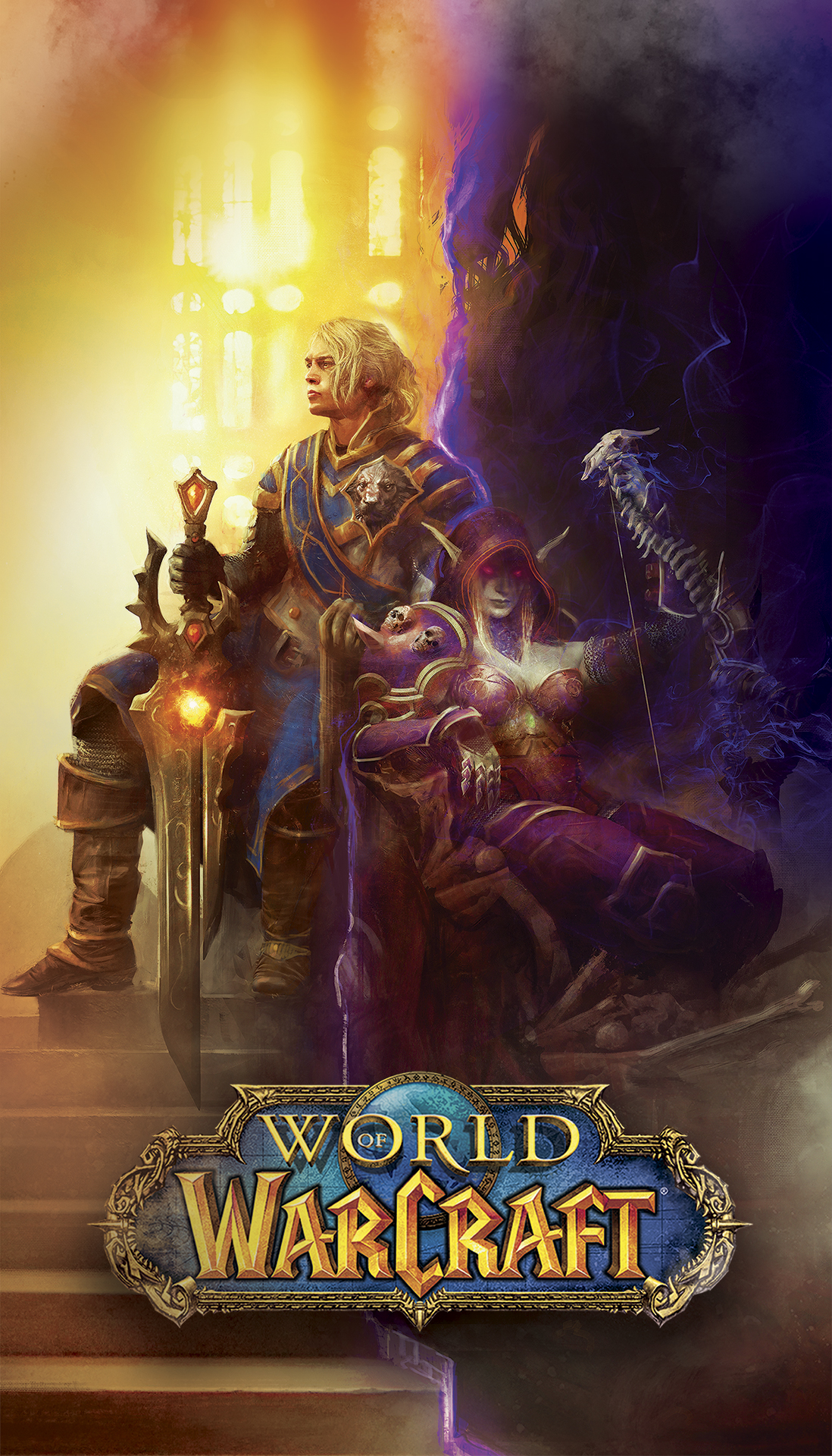 world of warcraft iphone 11 wallpaper