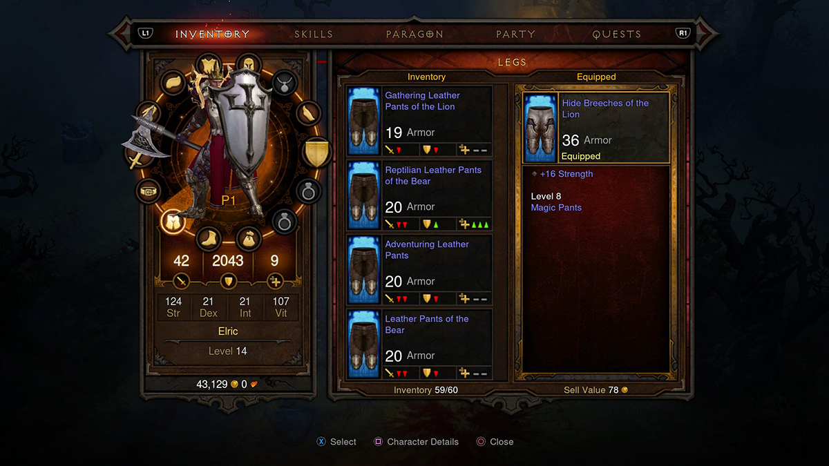 D3 item slots
